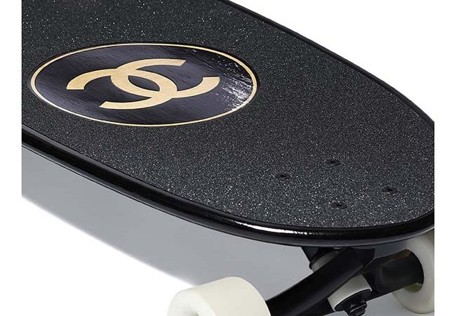 Chanel Unveils A Luxury Skateboard $7,700