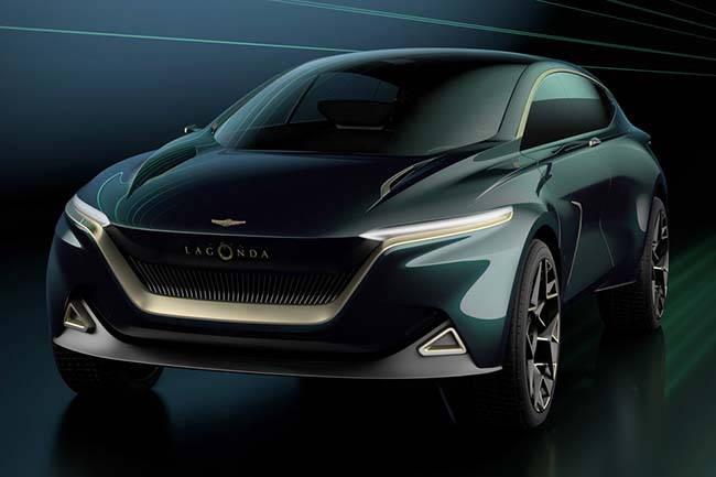 Lagonda All-Terrain Concept SUV revealed