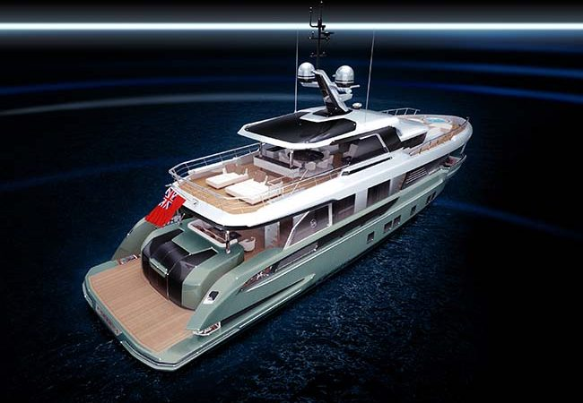 Introducing the New Dynamiq Global 330 Explorer Yacht