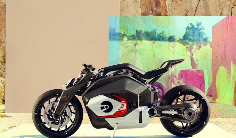 The Future is Here: BMW Motorrad Vision DC Roadster