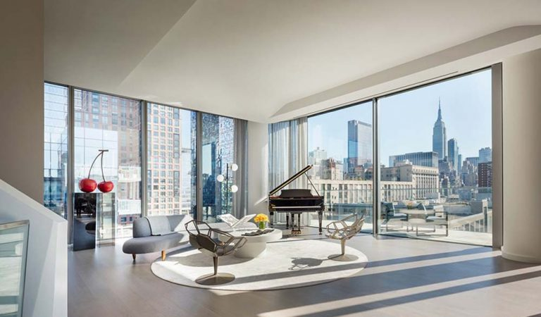 A Look Inside The $50 Million NYC Penthouse Designed by Zaha Hadid
