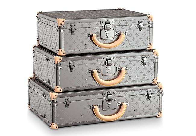 Louis Vuitton Monogram Titane Luggage Collection Will Help You Travel in Style
