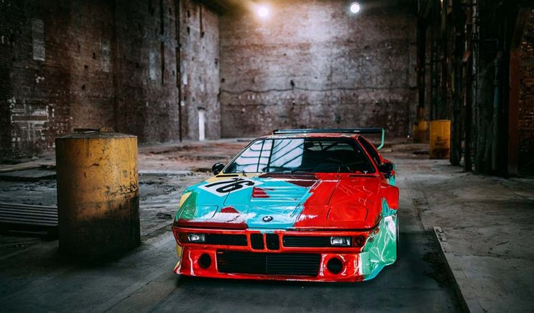 BMW M1 Art Car by Andy Warhol Turns 40, Looks Better Than Ever