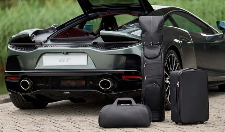 McLaren Unveils Bespoke Luggage Collection For GT Fans