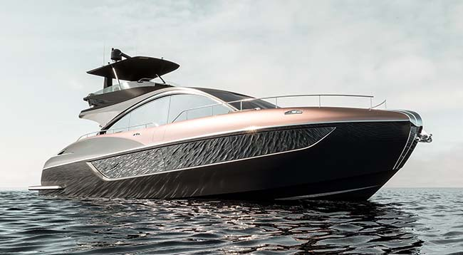 Lexus LY 650 Luxury Yacht Is Ready To Set Sail