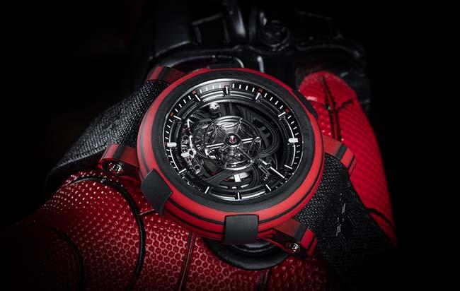 Introducing The New RJ ARRAW Spider-Man Tourbillon Watch