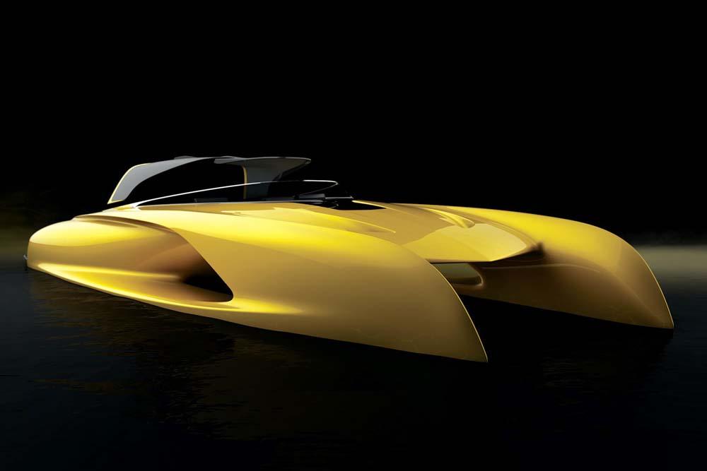 Bugatti Designer Etienne Salomé Unveils A New Sports Tender Called Atlantic