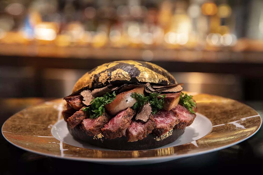 Would You Spend $1600 On This Black Gold Burger?