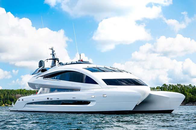 Royal Falcon One Catamaran Is Ready To Set Sail