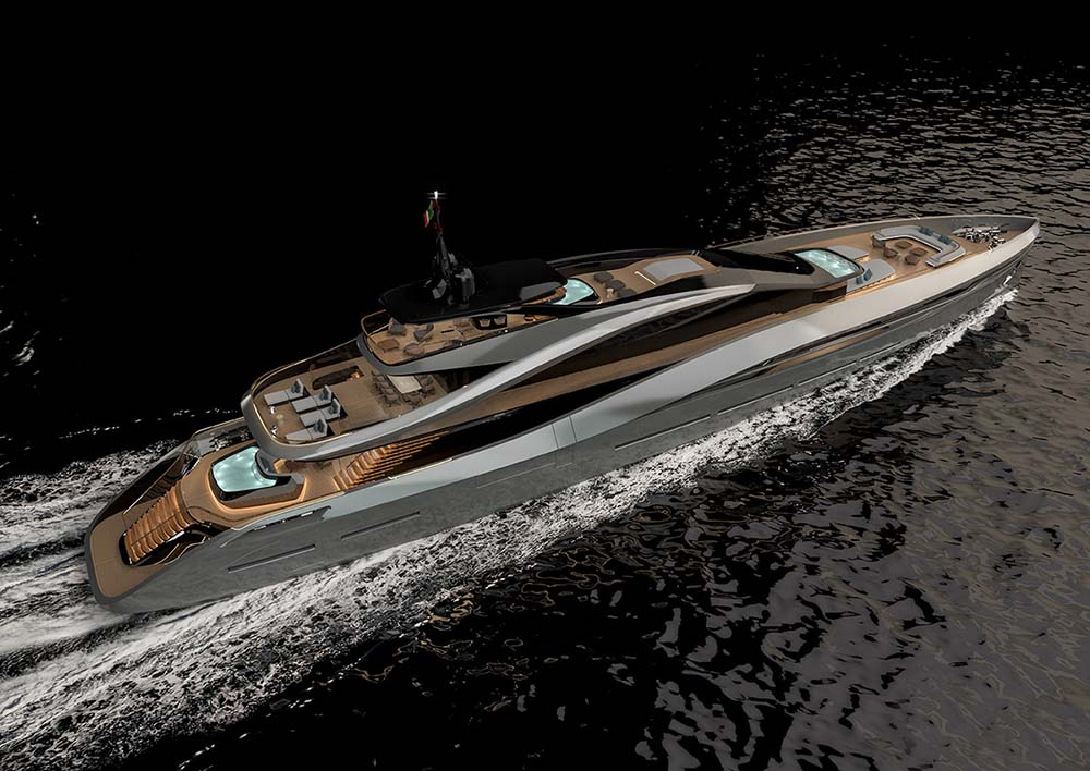 Say hello to Super Sport 65, a new masterpiece by Pininfarina and Rossinavi