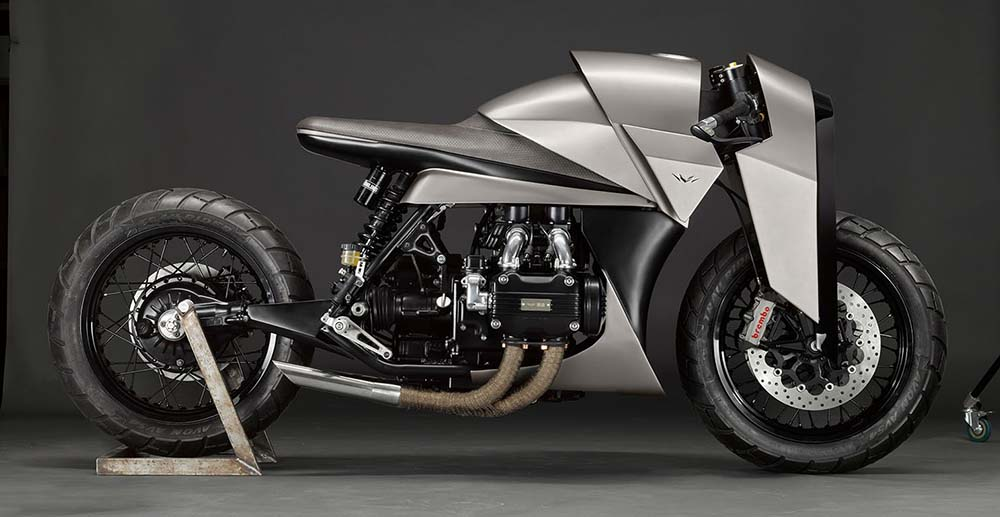 Kenzo Motorcycle by Death Machines of London Is a True Work of Art