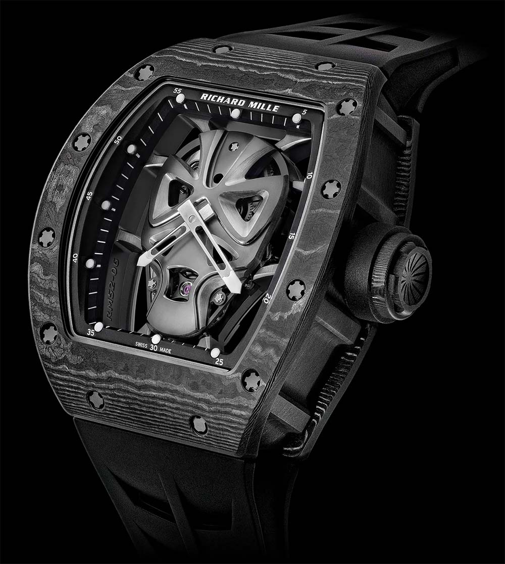 Introducing The Richard Mille RM 52-06 Tourbillon Mask Watch