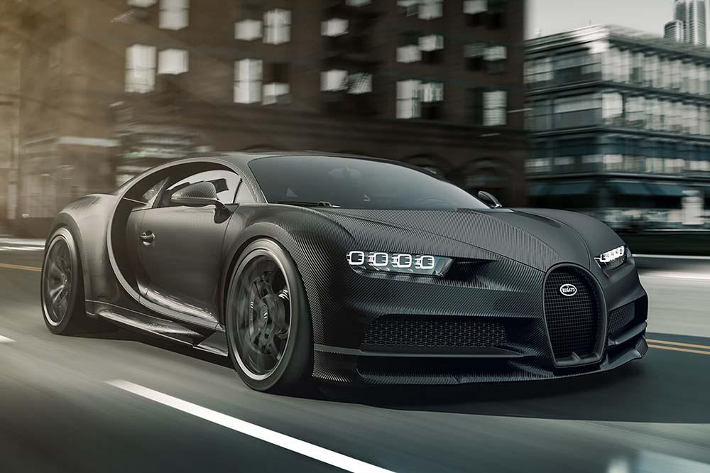 Bugatti Chiron Noire Sportive and Noire Élégance Unveiled