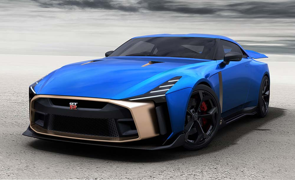 Nissan GT-R50 By Italdesign, Production Version Confirmed