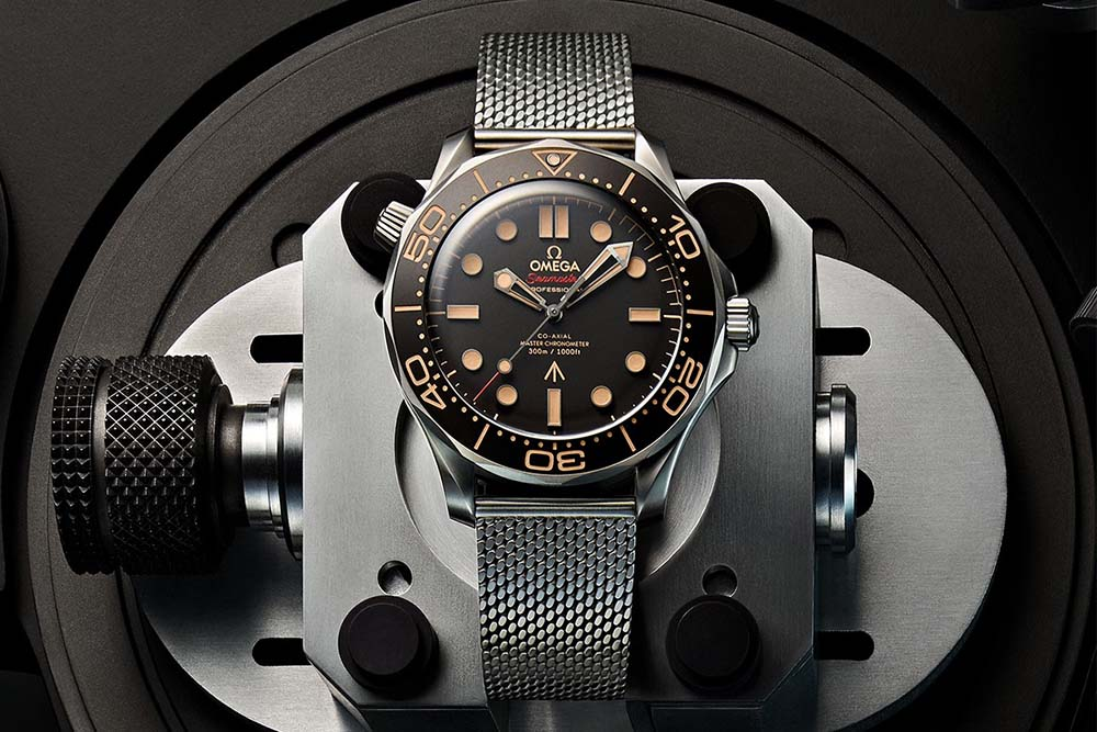 Omega Seamaster Diver 300M 007 'No Time To Die' Unveiled