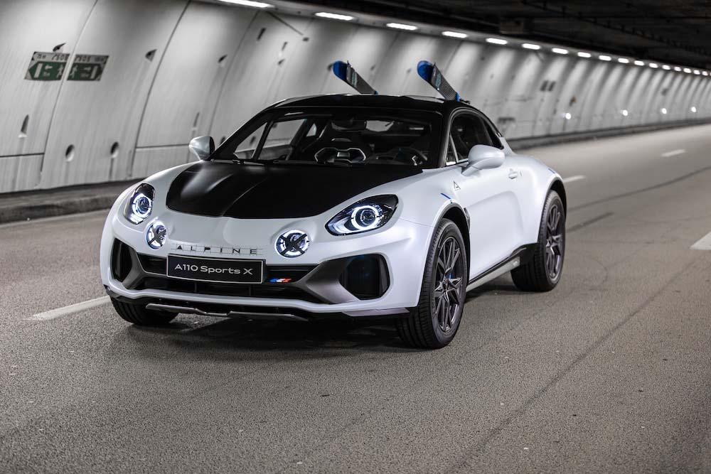 Alpine A110 SportsX Concept Unveiled