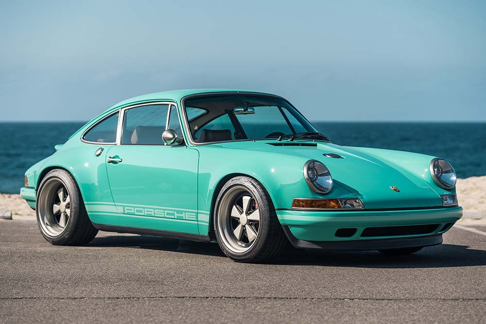 "This Stunning 1991 Porsche 911 ""Malibu"" Reimagined by Singer Could Be Yours"
