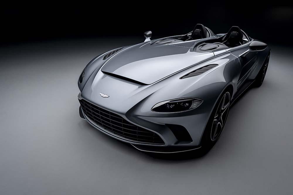 Aston Martin V12 Speedster Is a Jet-Inspired Supercar