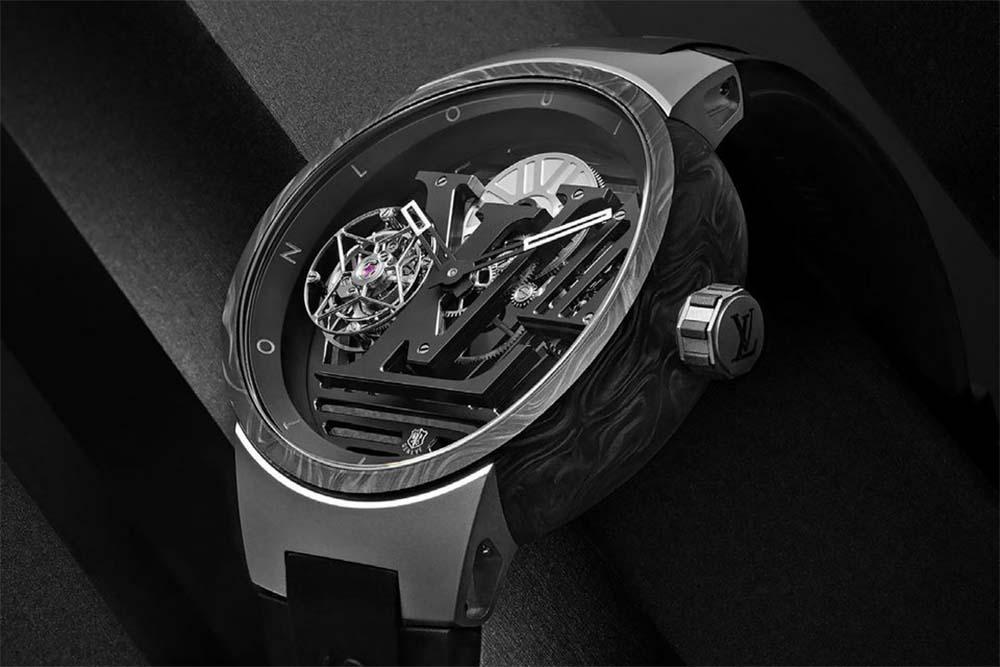 Introducing the Louis Vuitton Tambour Curve Flying Tourbillon Watch