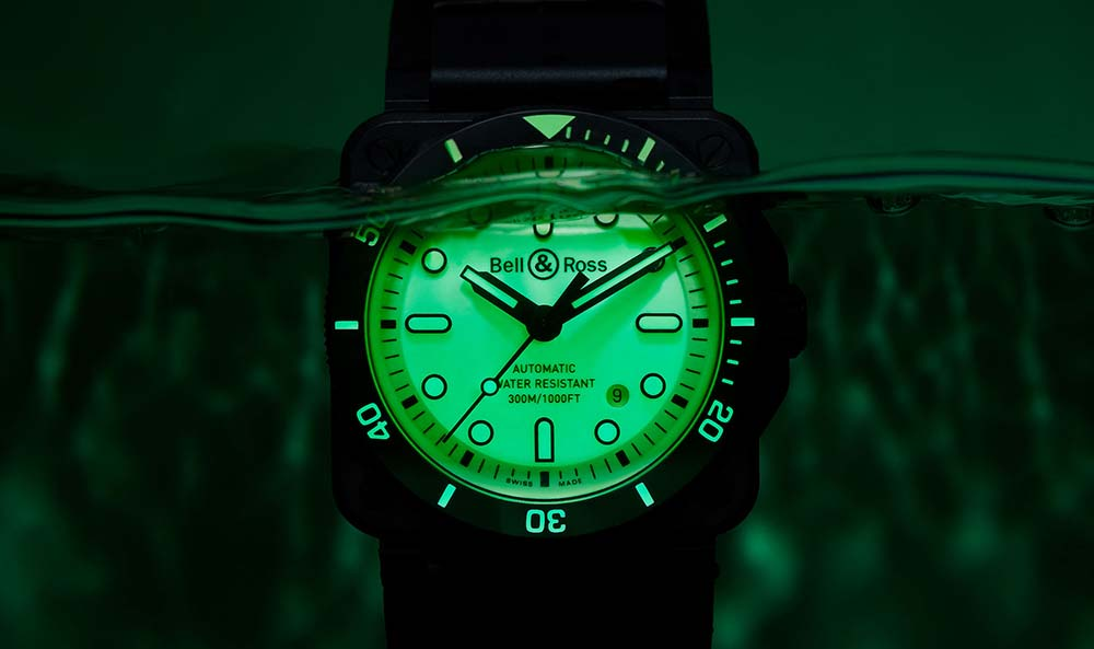 Make A Splash With The New Bell & Ross BR 03-92 Diver Full Lum