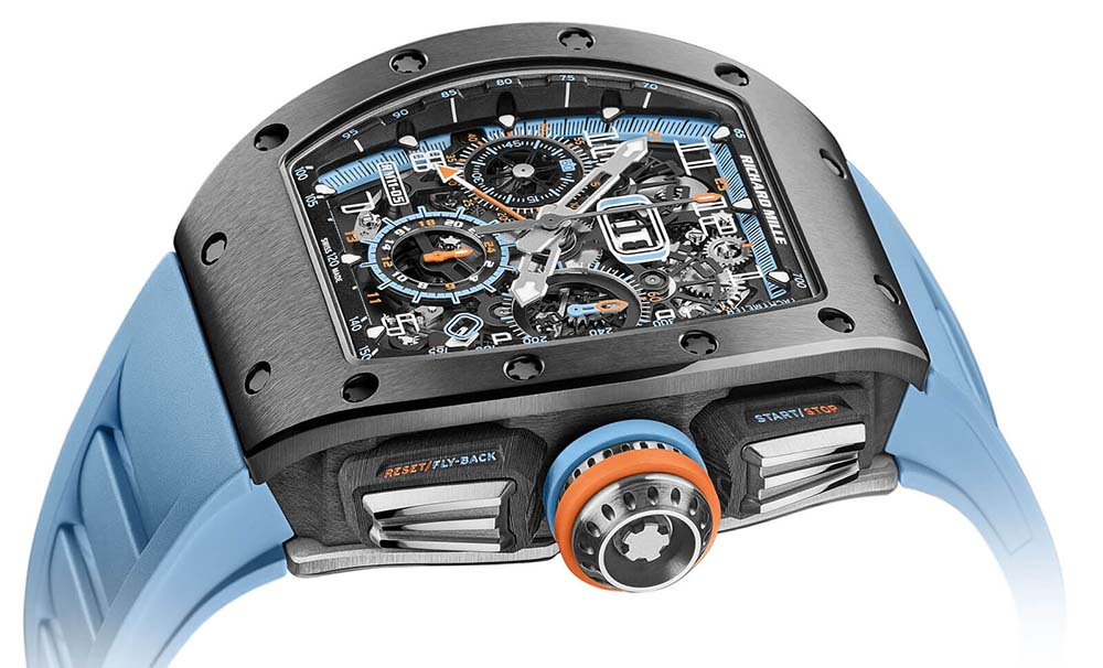 Introducing the Richard Mille RM 11-05 Automatic Flyback Chronograph GMT