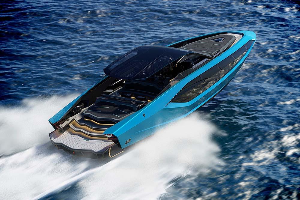 Lamborghini Unveils A 4,000-HP Luxury Yacht