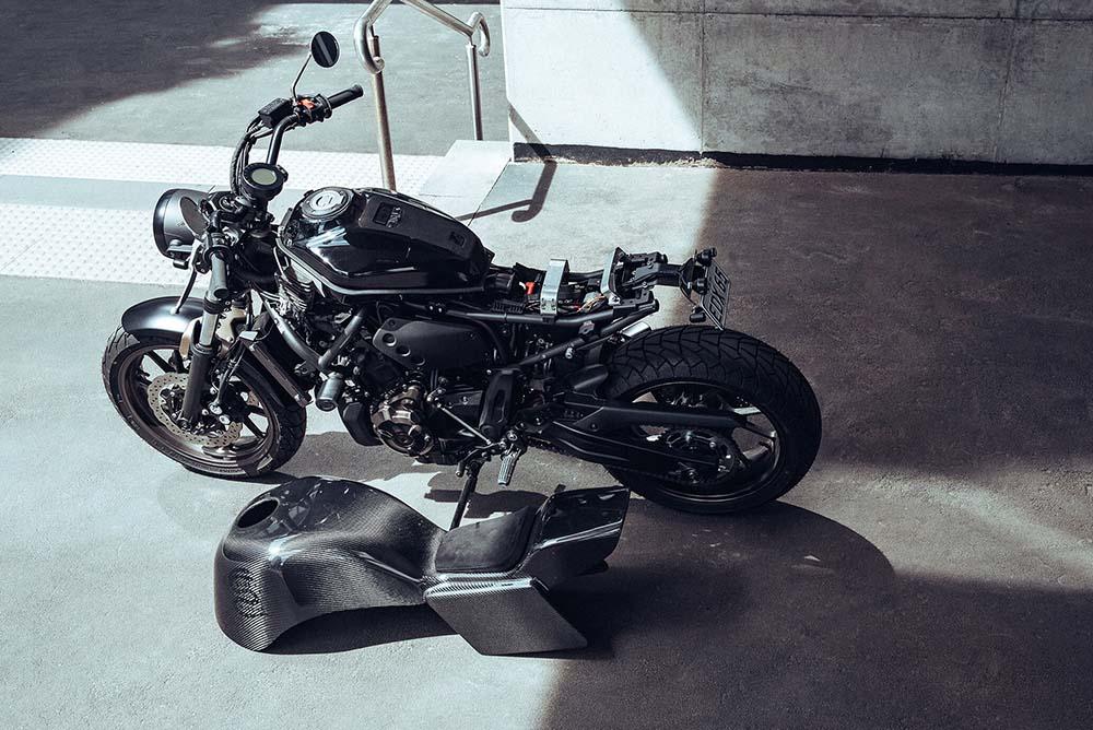 Deus Unveils Upgrade Kit For The Yamaha XSR700 & MT07