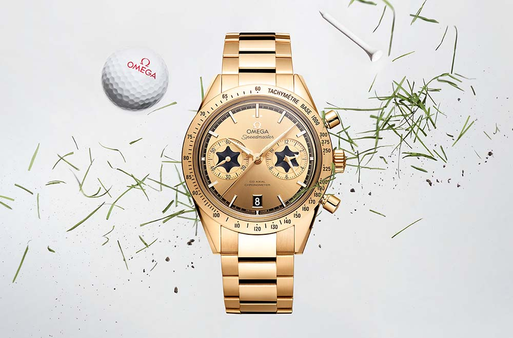 Omega Pays Tribute to Rory McIlroy With A Special Edition Watch
