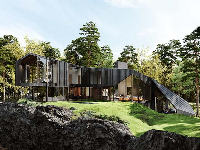 Aston Martin x S3 Architecture Unveils Sylvan Rock, The First Private Residential Estate
