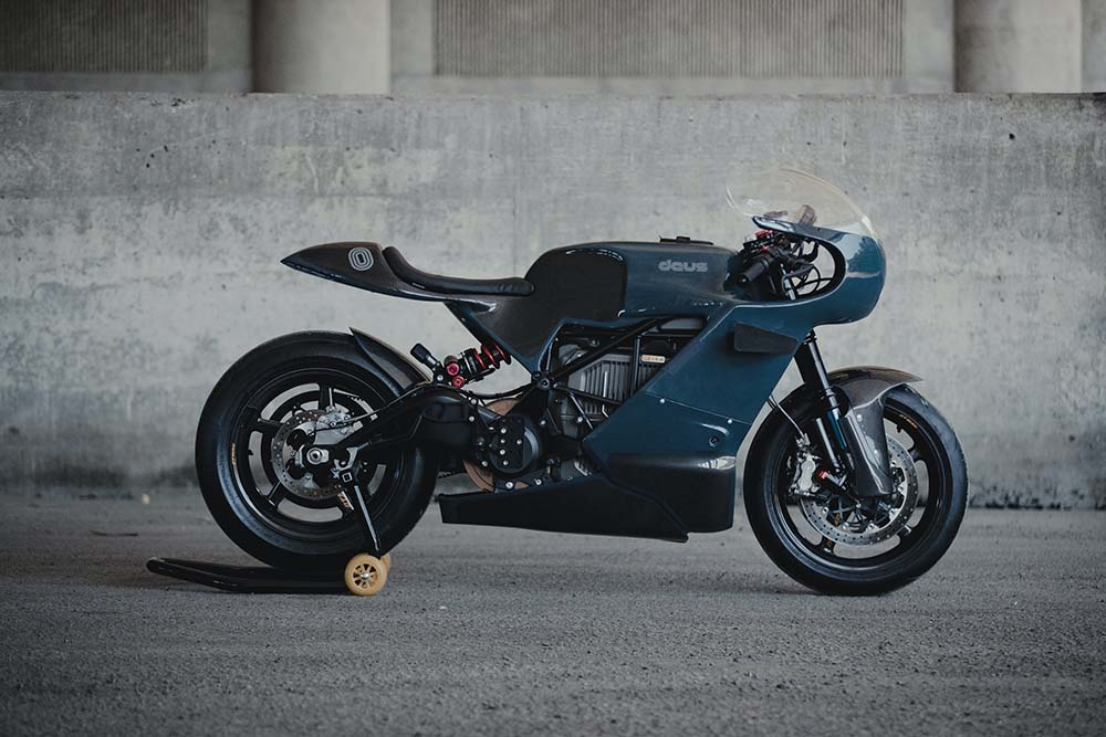 Deus x Zero Collaborate on First Electric Motorcycle