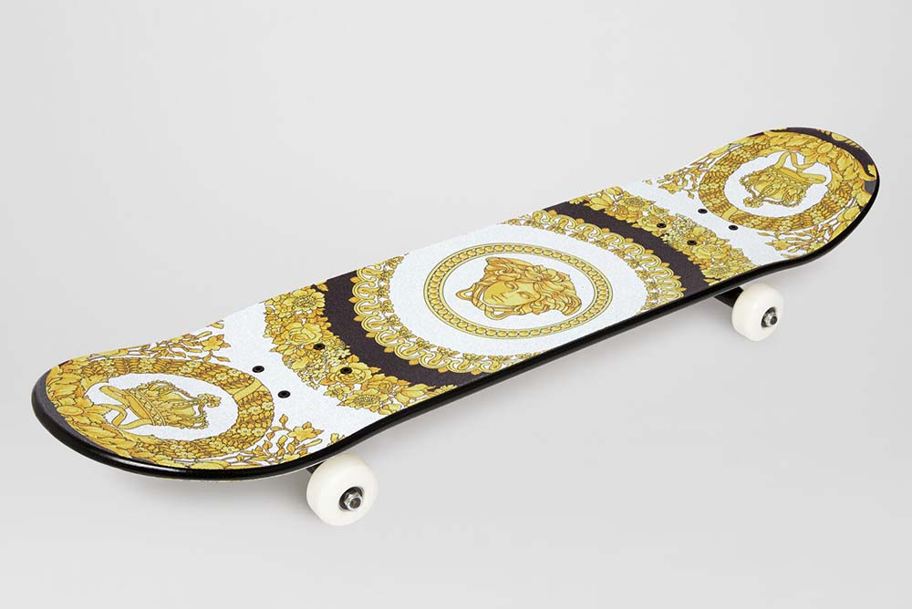 Versace Baroque Medusa Skateboard Will Set You Back $795
