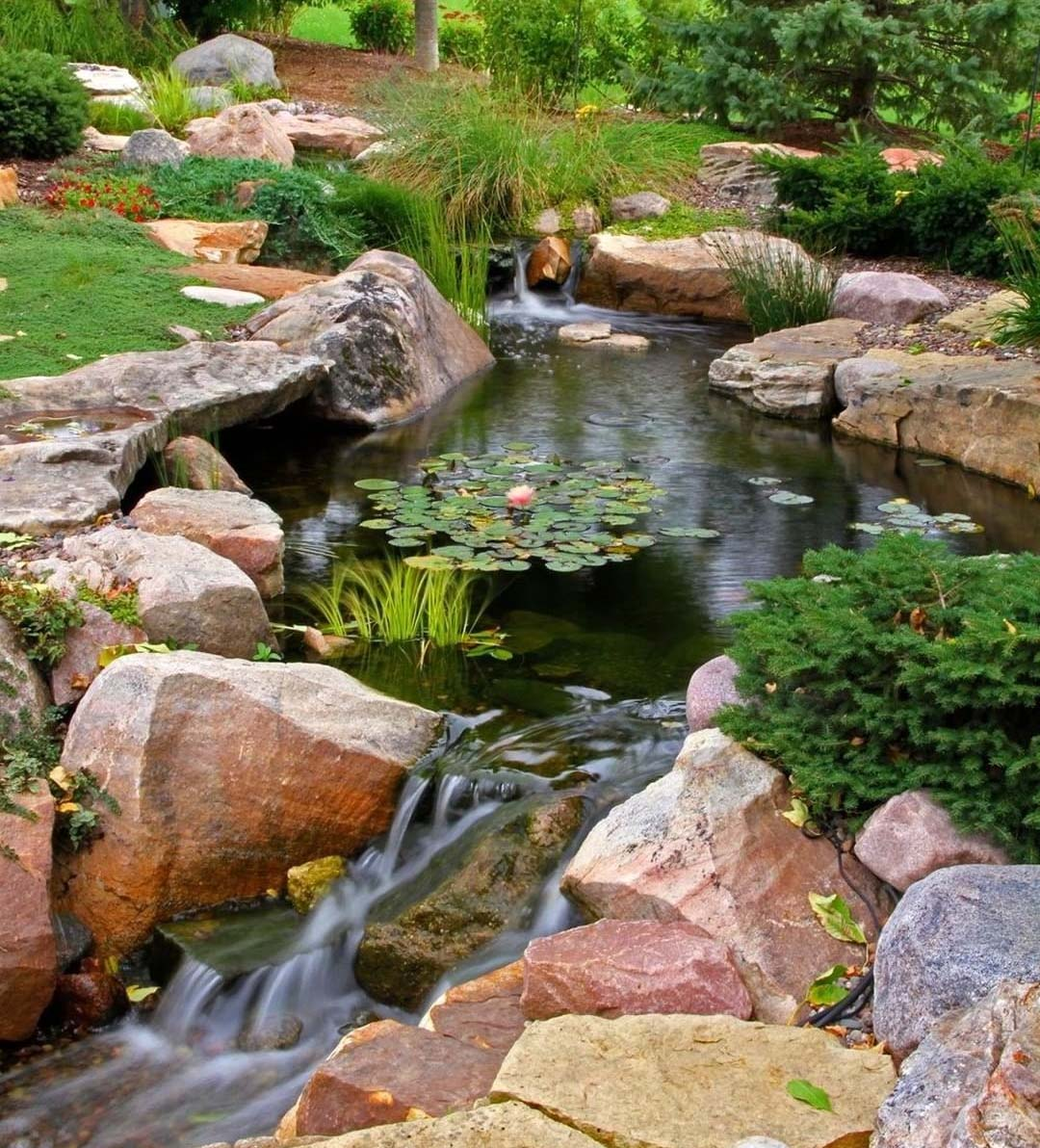 Building a Waterfall in Your Garden