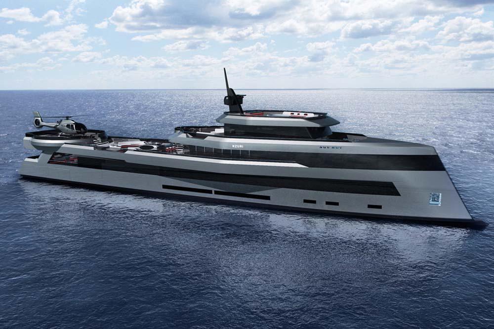 Nzuri Superyacht Concept by Kyron Design