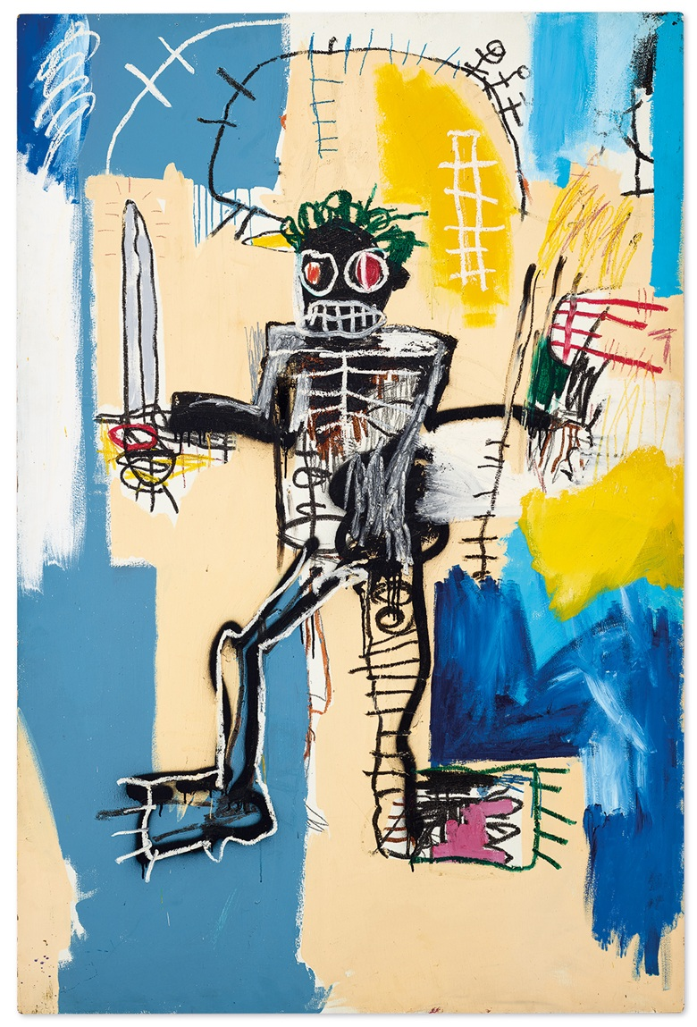 Jean-Michel Basquiat's Warrior Could Fetch Over US$31 Million