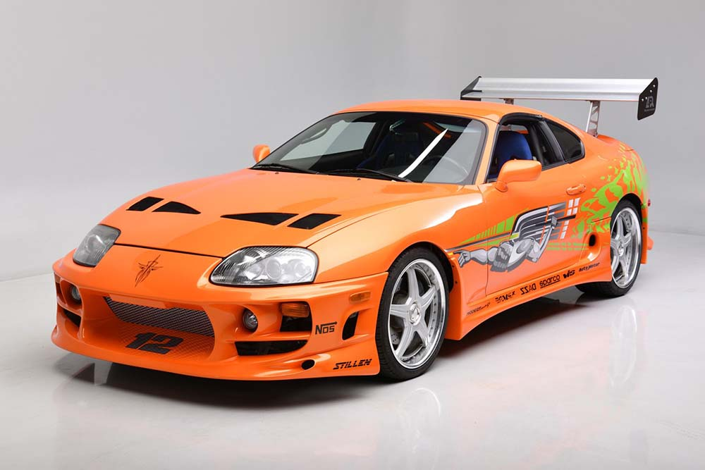 Paul Walker's Fast & Furious Toyota Supra Is Going Up For Auction
