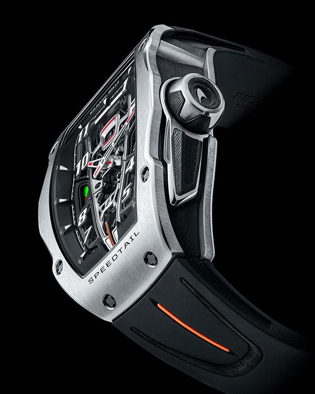 Richard Mille x McLaren Unveil Exclusive RM 40-01 Speedtail Timepiece