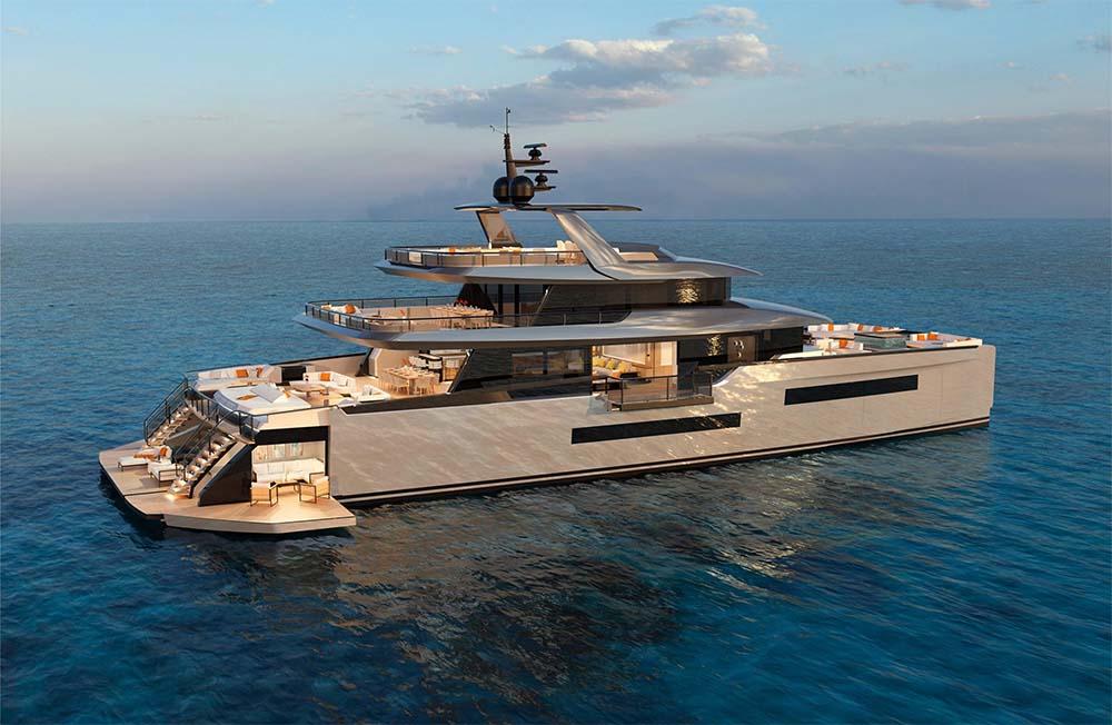 Meet The New ISA Zeffiro 130 Luxury Catamaran