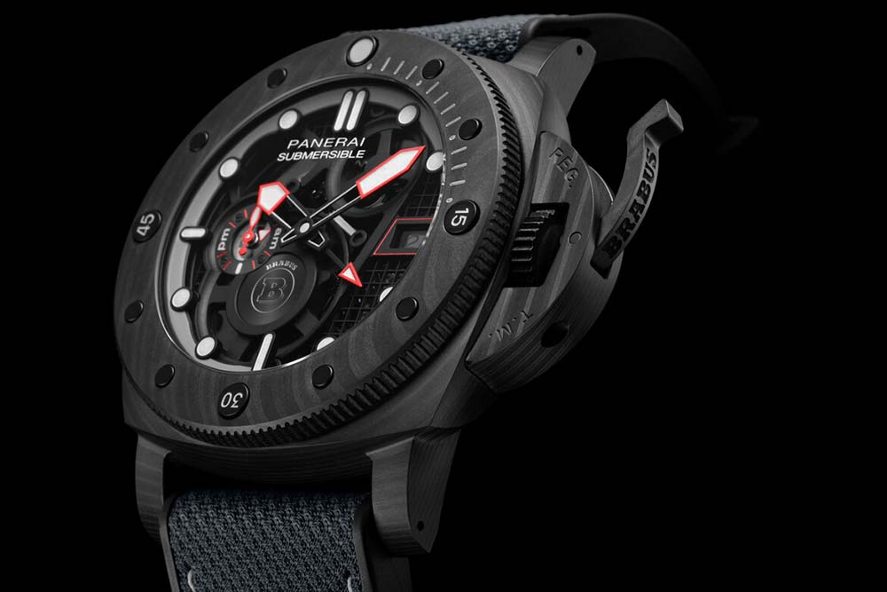 Panerai x Brabus Submersible S Black Ops Edition Watch